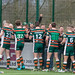 The Hunslet players thank their supporters-6759