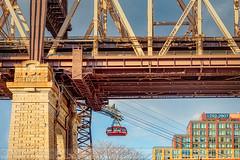 Roosevelt Tram Underneath The 59 St Bridge