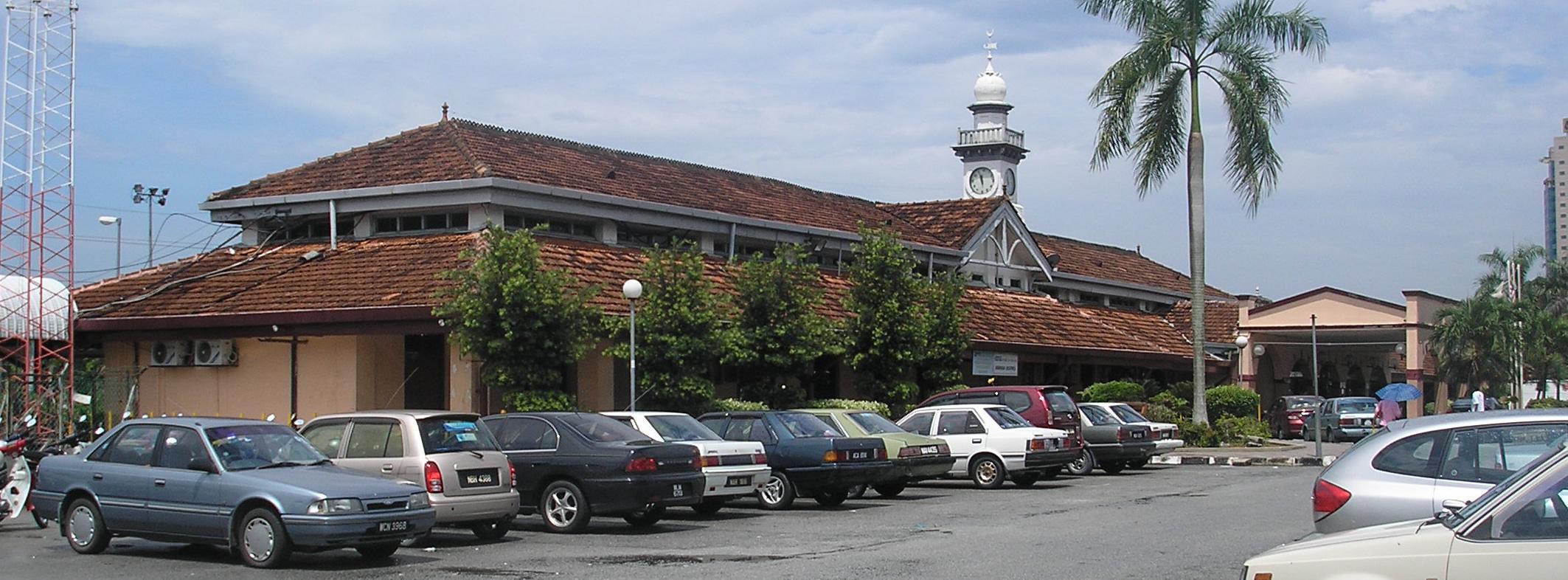 Seremban railway station. Photo taken on March 17, 2007.