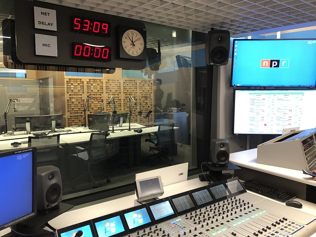 Backup Studio at NPR