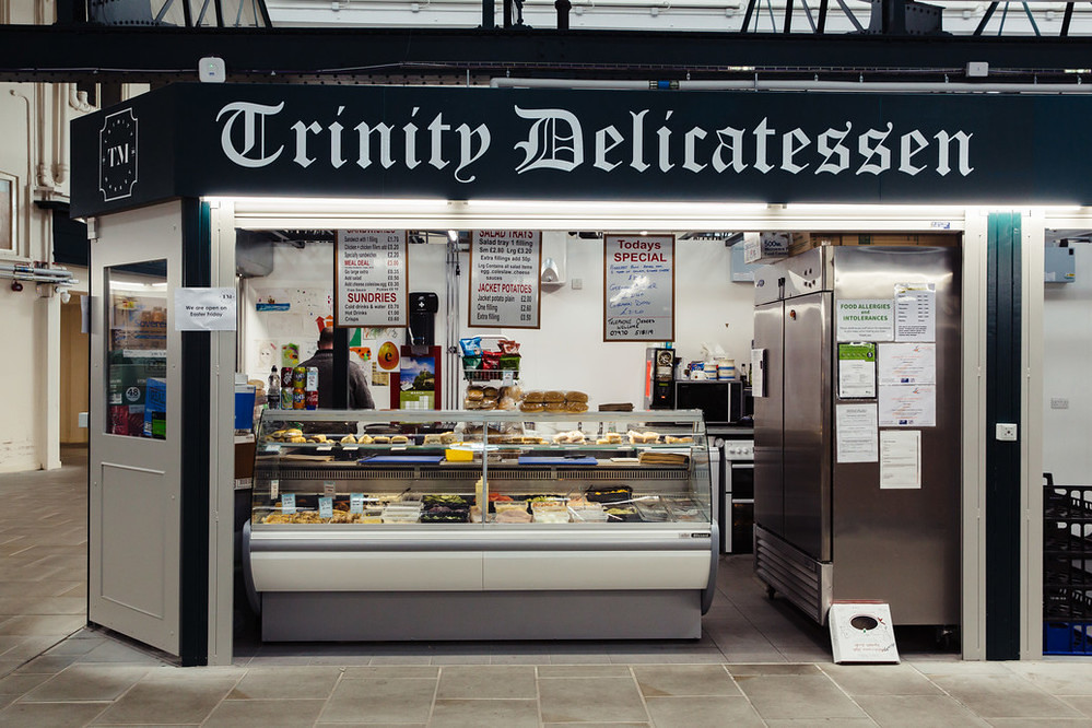 Trinity Market - Trinity Delicatessen. Photo: James Mulkeen