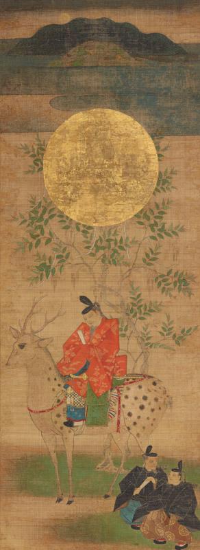 重要文化財《春日宮曼荼》(鎌倉時代、奈良・南市町自治会)