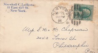 LEFFERTS 5_25_1881 letter
