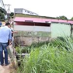 qui, 12/04/2018 - 08:07 - Visita Técnica para avaliar fissuras entre ponte e o asfalto no bairro Betânia - 12/04/2018 - Local: Rua Úrsula Paulino, próximo ao número 200 Foto: Bernardo Dias/CMBH