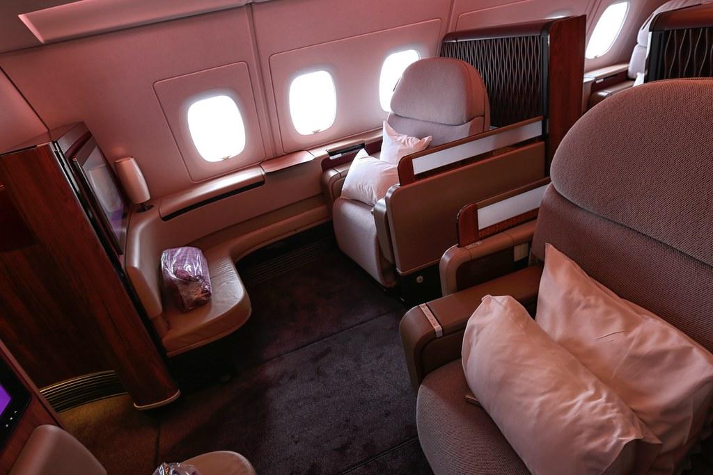 Qatar A380 First Class 4