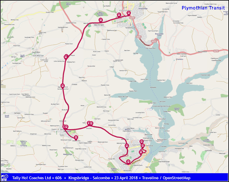 Route Map: 606