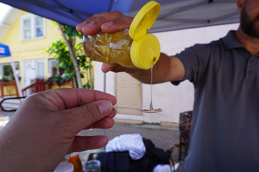 Honey from Penfield Honey Company Sebring Soda Festival, Sebring, Fla. April 7, 2018