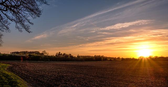 An April Evening