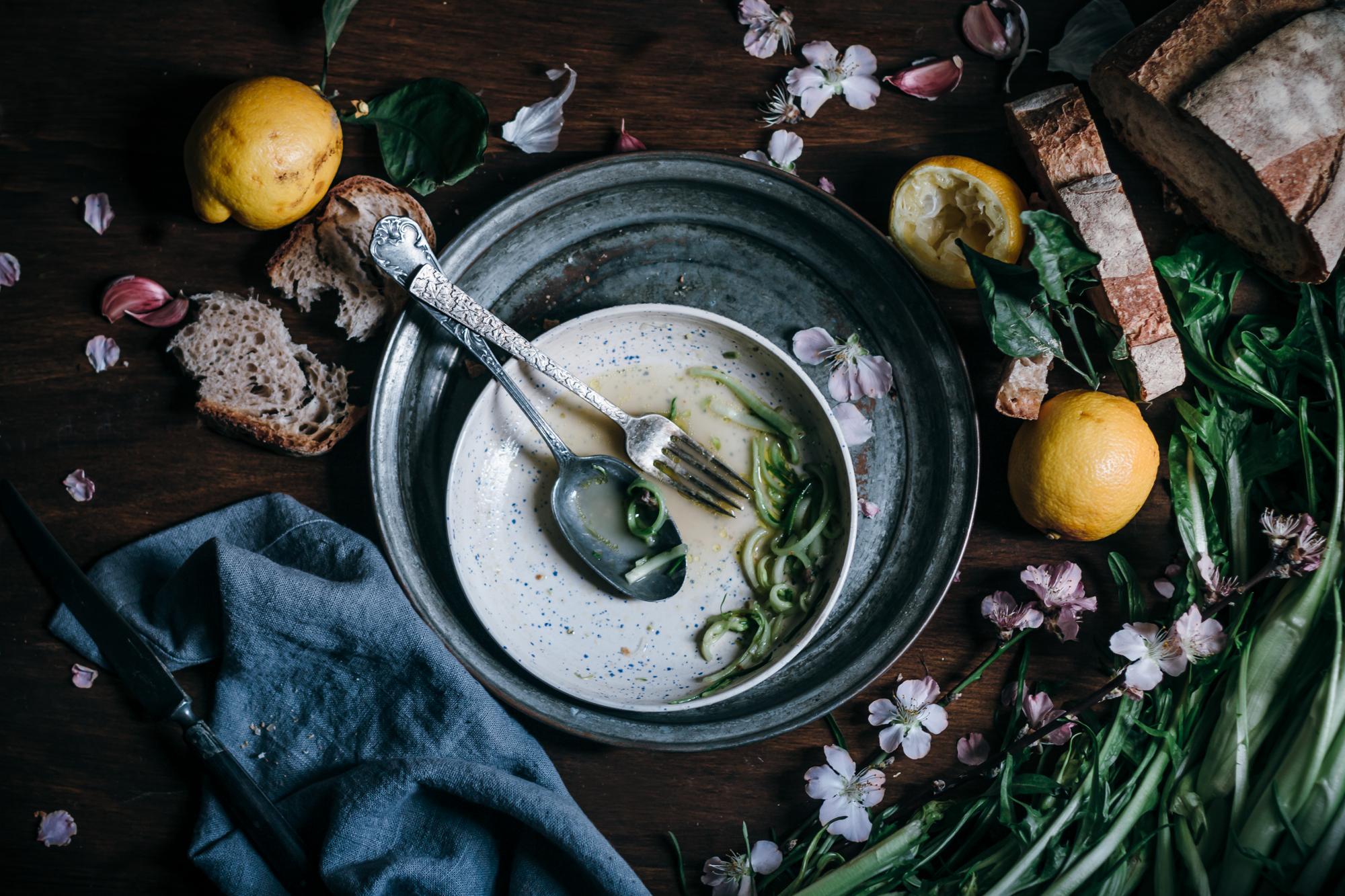 puntarelle Roman Salad by Saghar Setareh - Lab Noon-13