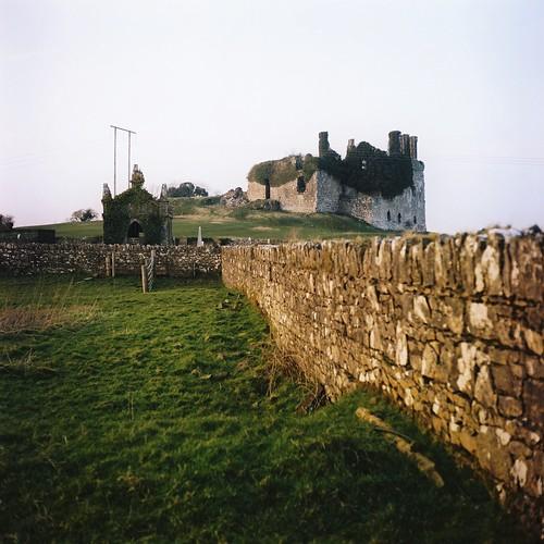 Carbury Castle + Mausoleum