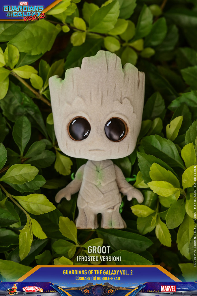 萌力全開!! Hot Toys - COSB453-458《星際異攻隊2》小格魯特 Guardians of the Galaxy Vol. 2 Groot Cosbaby Bobble-Head Series