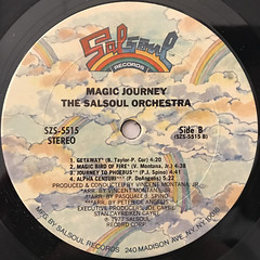 THE SALSOUL ORCHESTRA:MAGIC JOURNEY(LABEL SIDE-B)