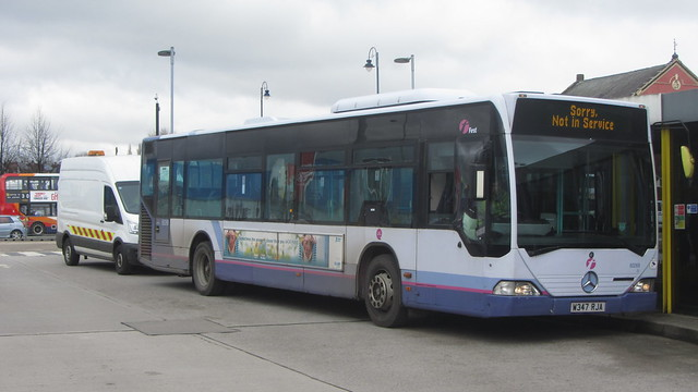 First Greater Manchester, Mercedes Citaro W347 RJA, Ashton-under-Lyne bus station
