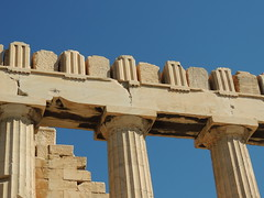 The Parthenon, Doric Columns