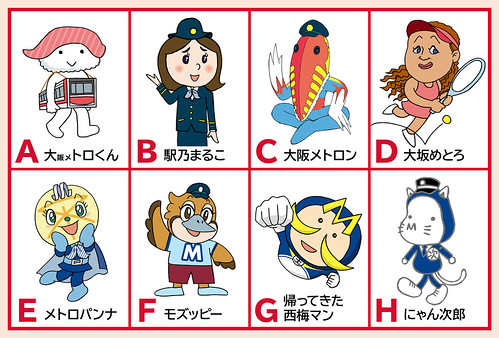 Osaka Metro Character