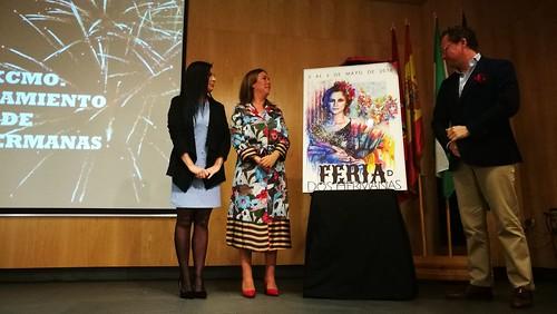 Presentación del cartel de feria de Juan Miguel Martín Mena