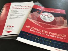 ARCHIVES + ACRM conference brochure APRIL