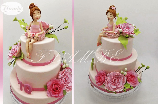 Beauty by Flambe Cakes