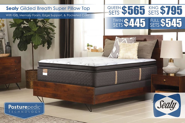 Gilded Breath Pillow Top_Mattress Special