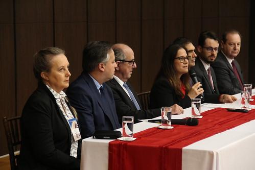 Juízes de Santa Catarina assistem apresentação do Projeto EU TENHO VOZ