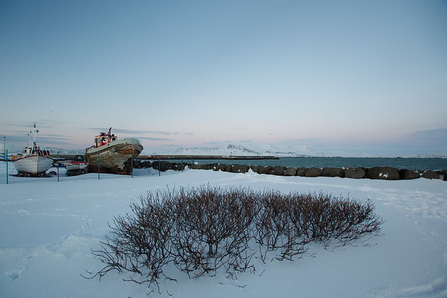 Harbour, Reykjavík, February 2018