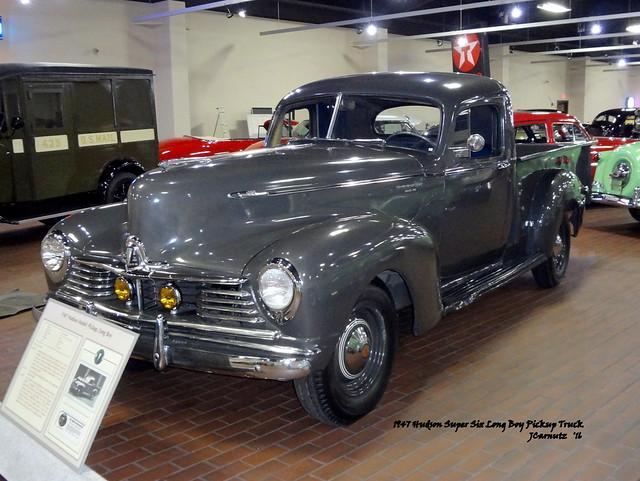 1947 Hudson Super Six Long Boy Pickup Truck