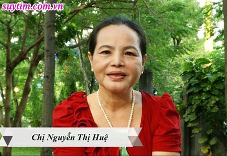 Chị Huệ - Tổ 91, đường Bình Tiên, Phường 8, Quận 6, Tp Hồ Chí Minh