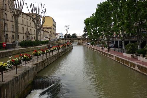 Canal de la Robine - Narbonne, France