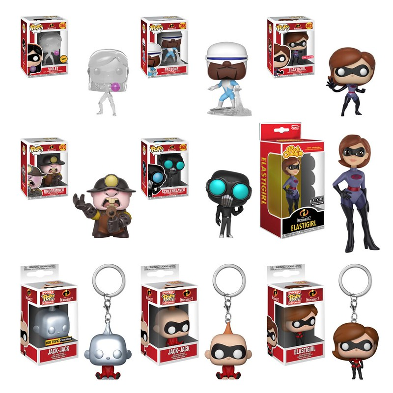 The Incredibles 2 by Funko 2