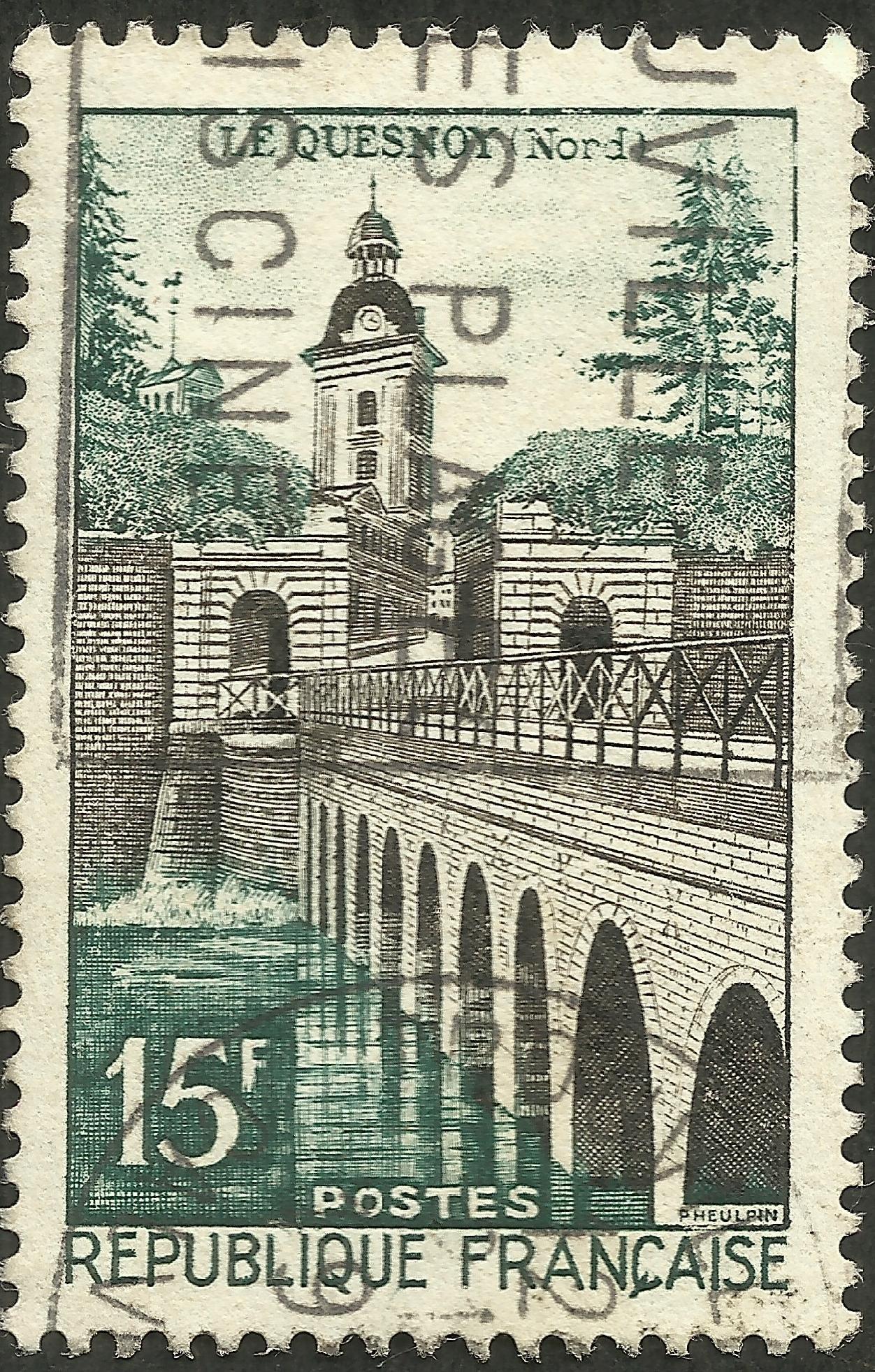 France - Scott #837 (1957)