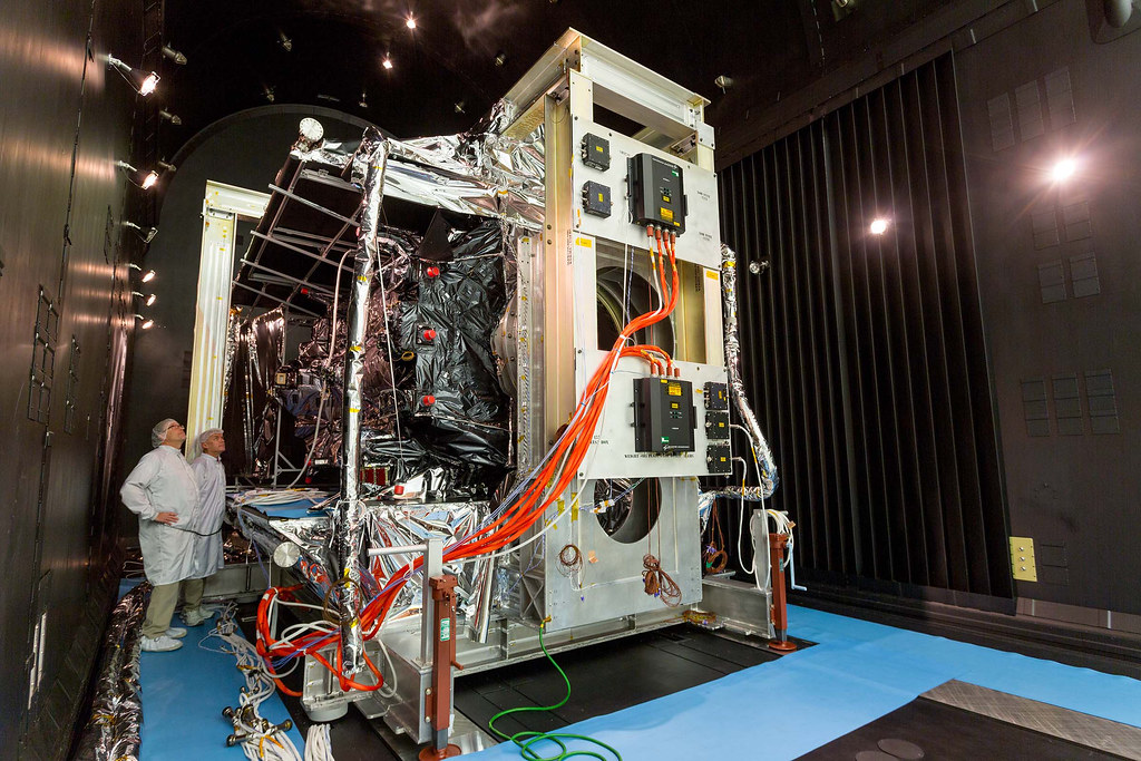 GPS III SV02 Completes TVAC