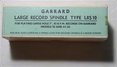 Garrard Large Record Spindle LRS10