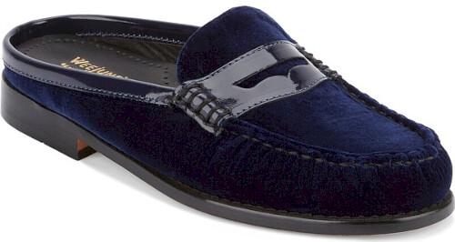 G.h. Bass & Co. Wynn Loafer Mule in Blue