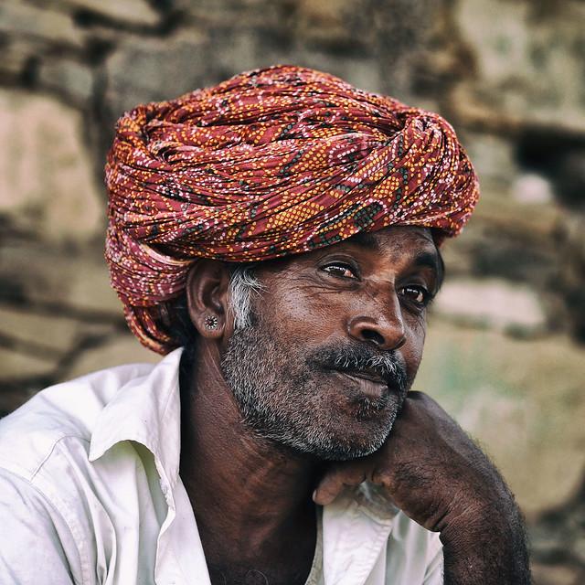 Fermier à Ranakpur (Rajasthan)
