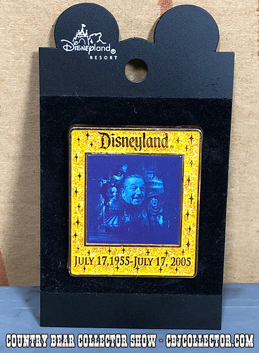2005 Disneyland 50 Years of Memories Pin - Country Bear Collector Show #155