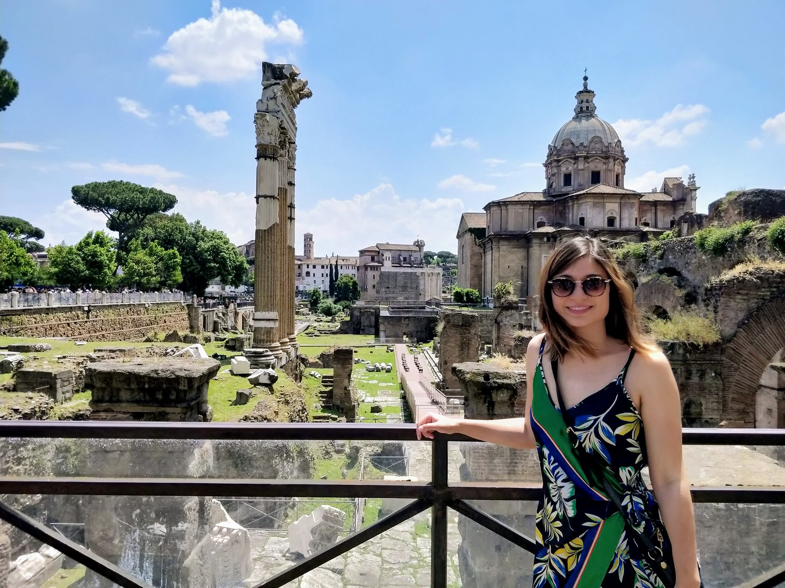 Me at the Fori Imperiali