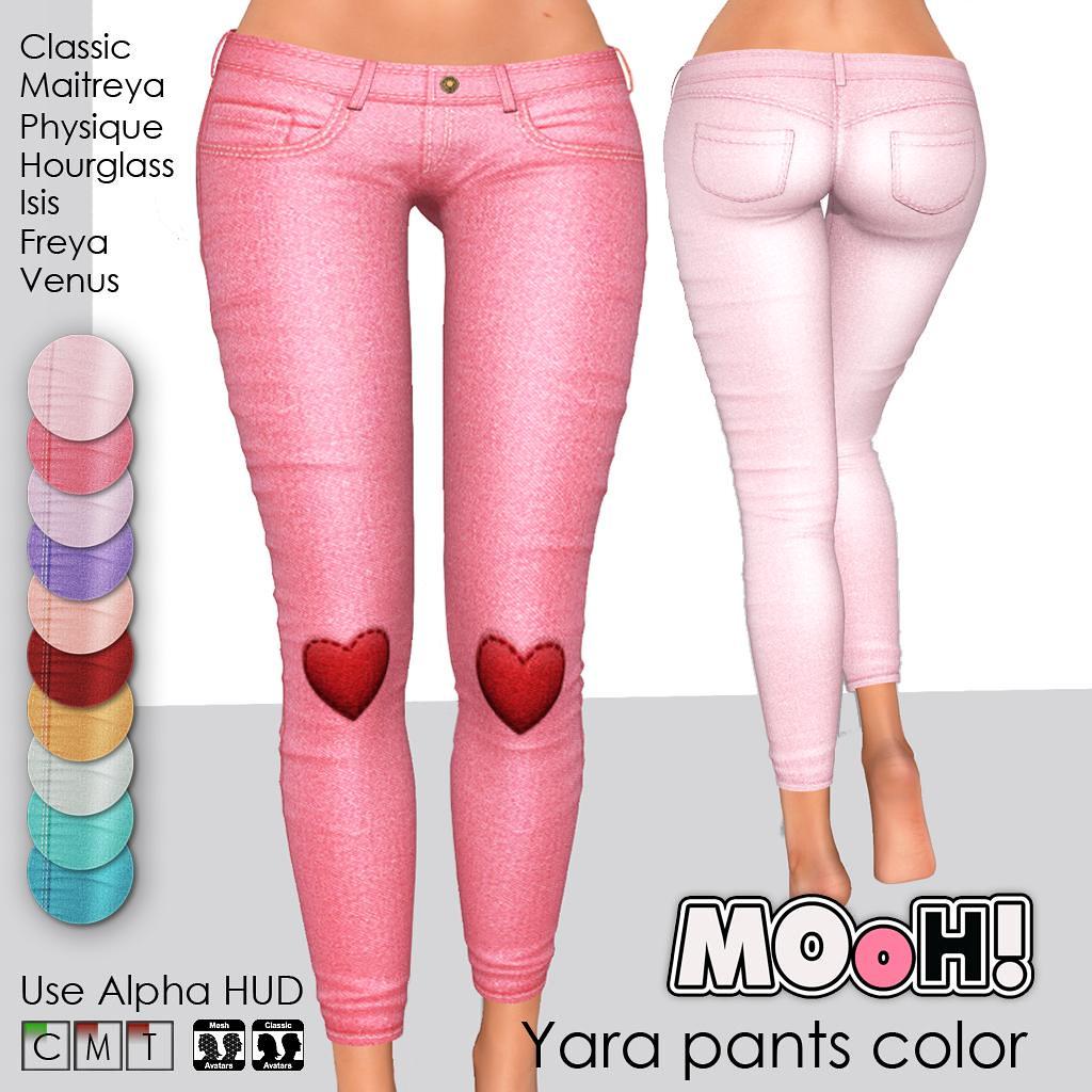 Yara pants color