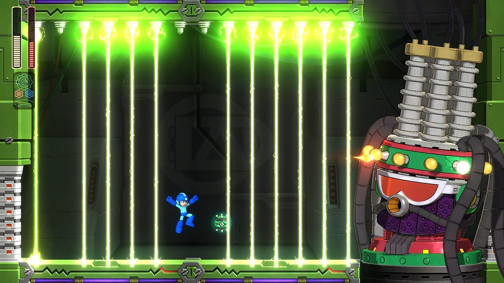 Mega Man 11 - Mid Boss