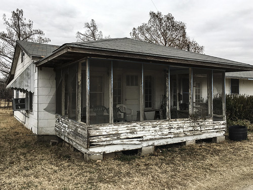 this farm house has seen better days
