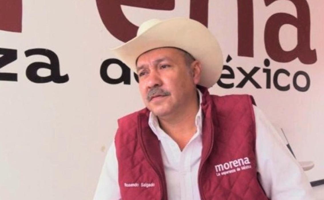 5.- El famoso hostigador sexual y dirigente estatal de Morena en Durango, Rosendo Salgado Vázquez, le jugó chueco a la activista social Mague Carrillo y terminó traicionándola.