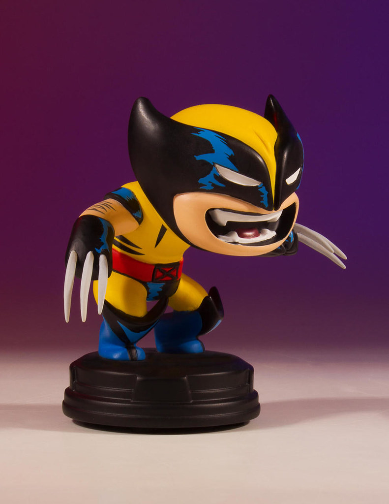 好啦乖!不要再生氣囉~ Gentle Giant Marvel Comics【金鋼狼】Wolverine Animated Statue