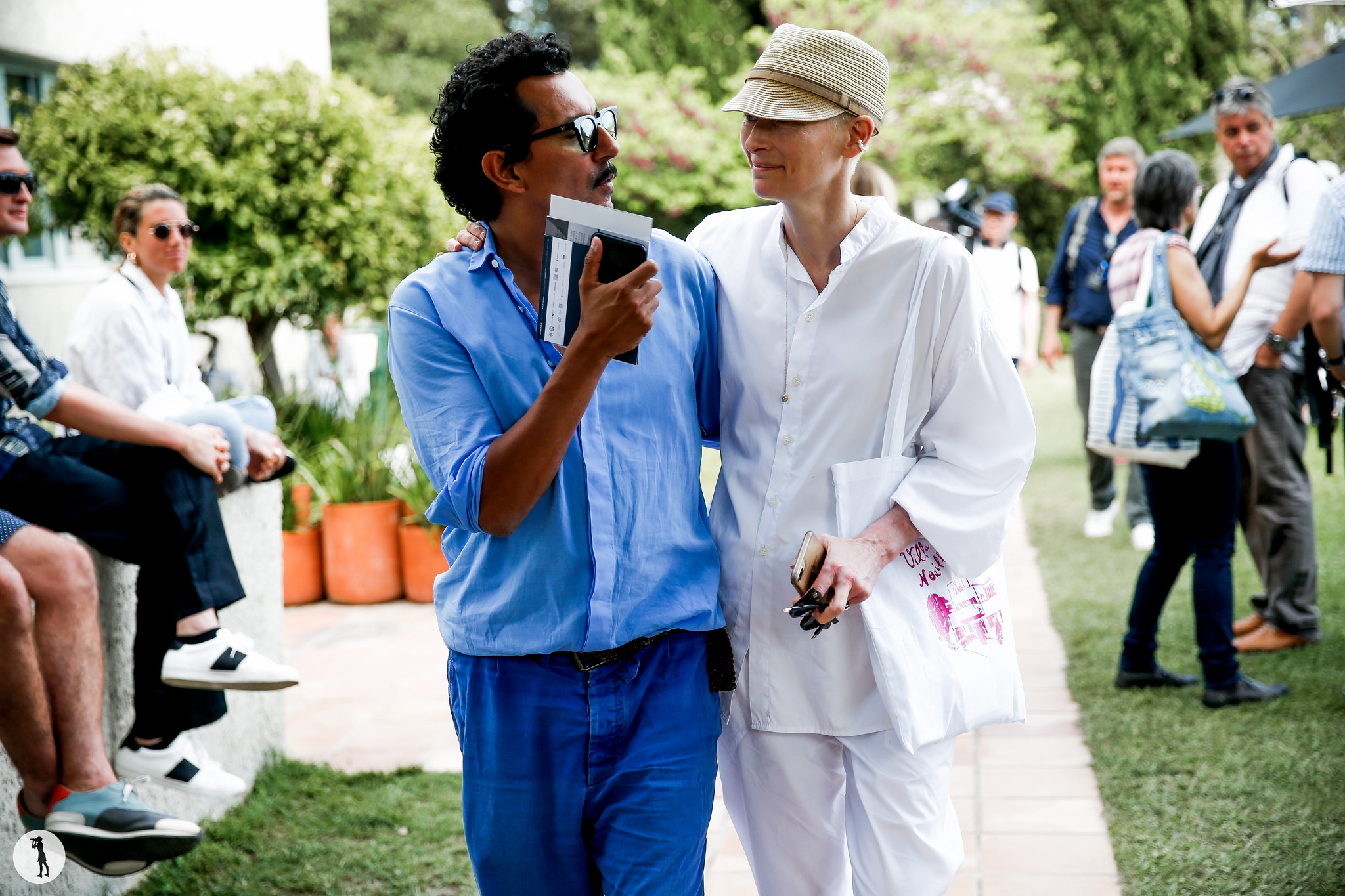 Haider Ackermann and Tilda Swinton - Festival de Hyeres 2018 (2)