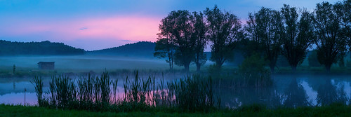 A Pond at Evening - Saxonia, Germany