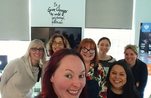 Be a Gamechanger! The world has enough followers! Fab day with @rtaylor81 & the @techreturners talking all things @DigiEnable #seo and #socialmedia What an awesome inspirational group of Tech Returners! ✊  #womenintech #womenincoding #techreturners #