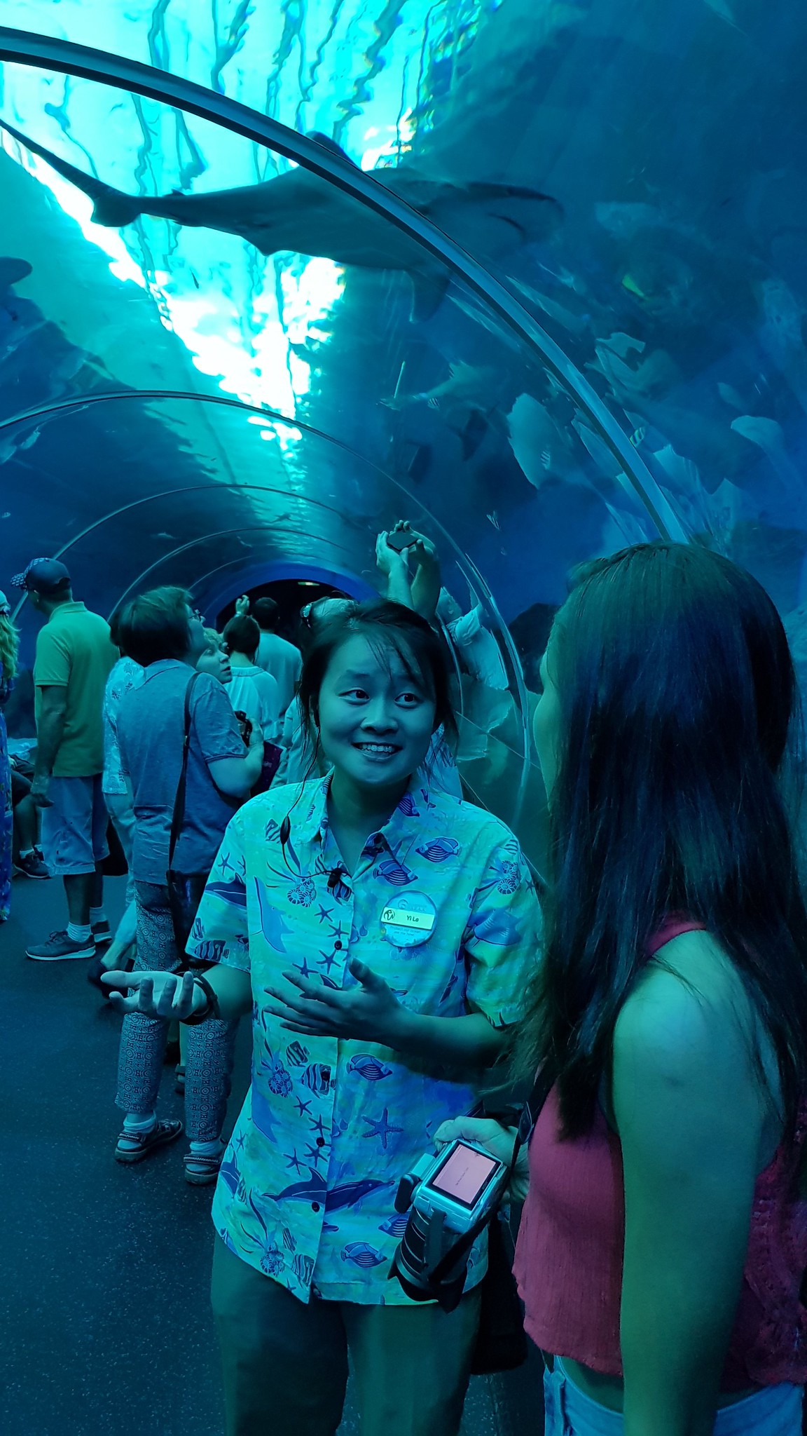 7. Guide in SEA Aquarium