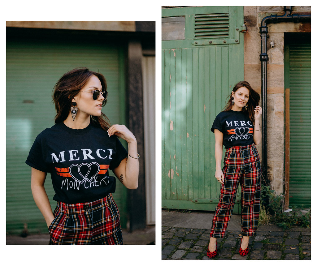 The Little Magpie Tartan Trousers Edinburgh