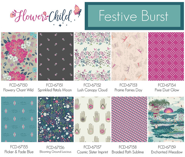Flower Child ~ Festive Burst