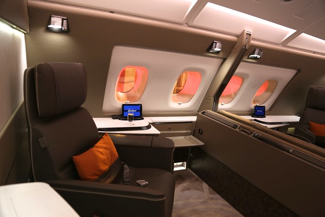 Singapore Airlines First Class Suites 17
