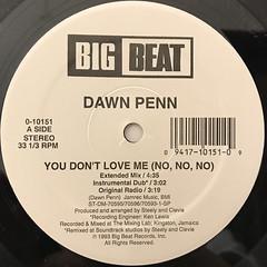 DAWN PENN:YOU DON'T LOVE ME(NO, NO, NO)(LABEL SIDE-A)