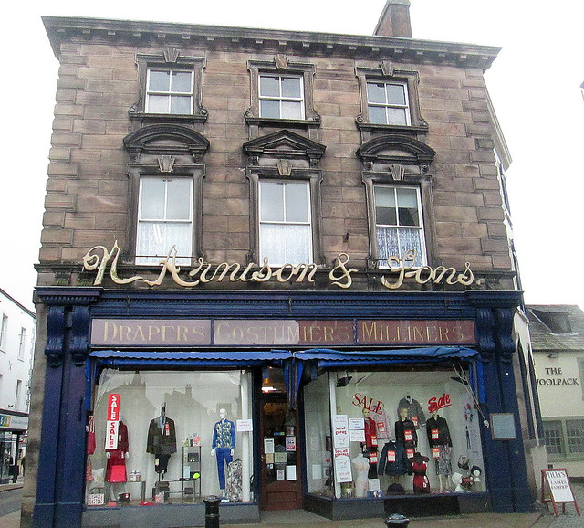 Old Style  shop front